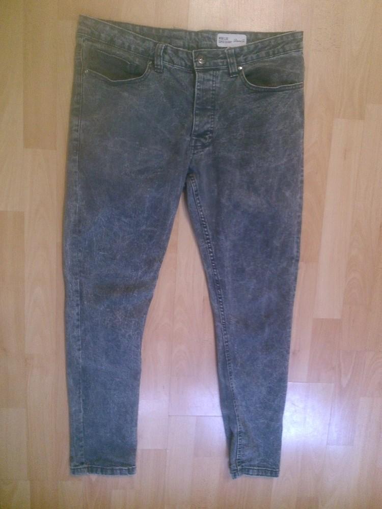 Фирменные джинсы скинни 34 р. - 36 р фото №1