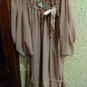 Шикарная блуза 52 размер  Bon Prix