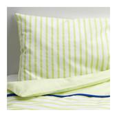 Комплект постельного белья, зеленый, Икея  502.519.82