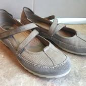 Туфли Ecco размер 41 по стельке 26,5см, отл.сост.