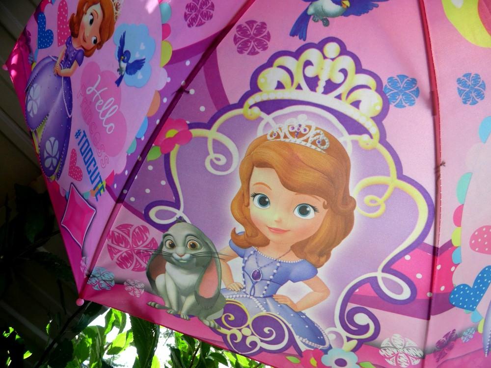 Принцесса София! Замечательный зонт зонтик трость для девочки 3-8 лет фото №1