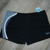 XL/50-52 Speedo,оригинал!Черные плавки шорты