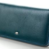 Женский кожаный кошелек клатч на молнии ST В наличии разные модели