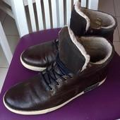 Кожаные ботинки Bullboxer 45р - 30см