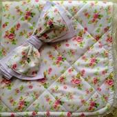 Одеялко-конверт, нежность для девочки.