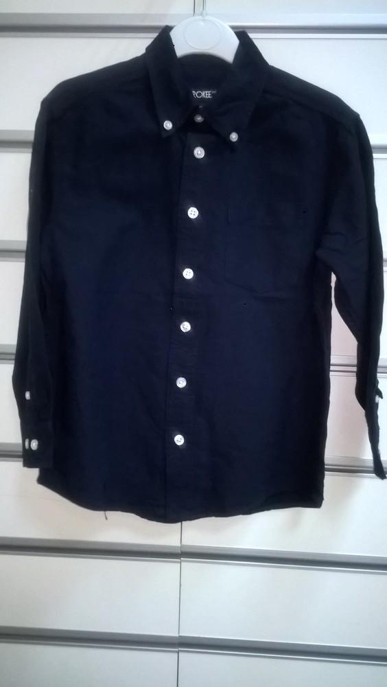 97696e09ff6 Новая рубашка для мальчика с длинным рукавом синего цвета cherokee фото №1