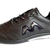 Стильные молодежные туфли с прошивкой (W24)