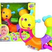 Игрушки веселая гусеница 9182