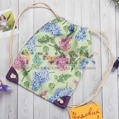 Детский рюкзак мешок Цветы