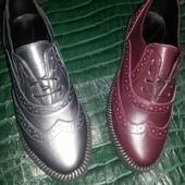 Женские туфли Кожа качество!