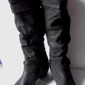 Мега- удобные!качественные! кожаные сапоги от janet d.размер 42