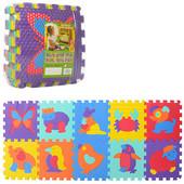 Коврик пазл для детей Животные текстурный  М3517 , м 3517 мозаика
