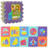 Коврик пазл для детей  текстурный  М3518 , м 3518 мозаика