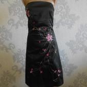 Атласное платье Jane Norman в идеальном состоянии М - L