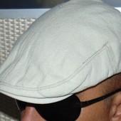 Лен брендовая стильная кепка  H&M.57-58