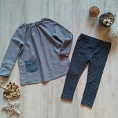 1/5-2 года Рубашка H&M с легинсами Matalan