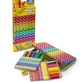 Цветные карандаши Crayola 30 шт. + пенал