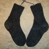 Носки шерстяные, ручная вязка р.36-37  Hand Made