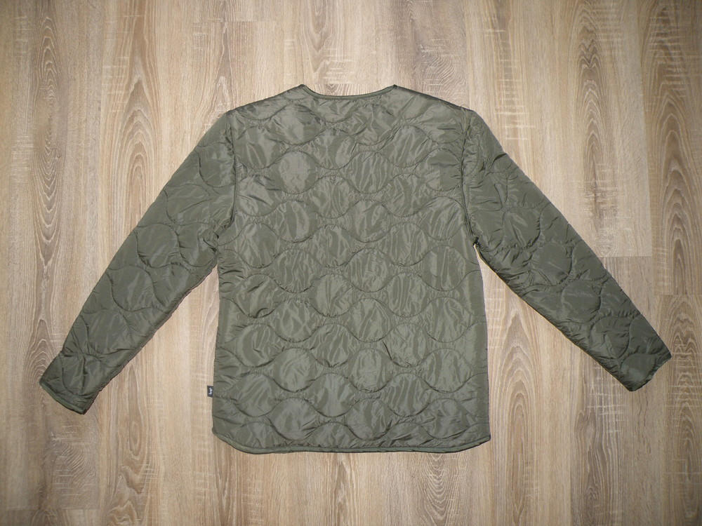 Куртка stussy quilted military liner jacket фото №9