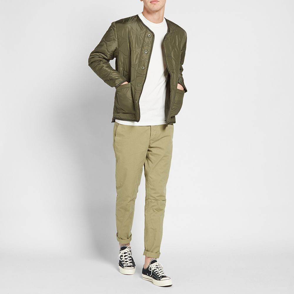 Куртка stussy quilted military liner jacket фото №2
