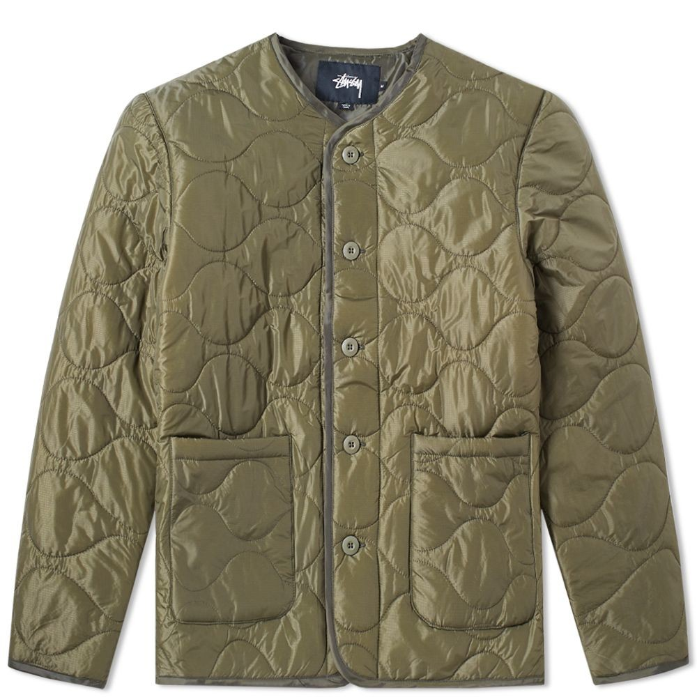Куртка stussy quilted military liner jacket фото №3