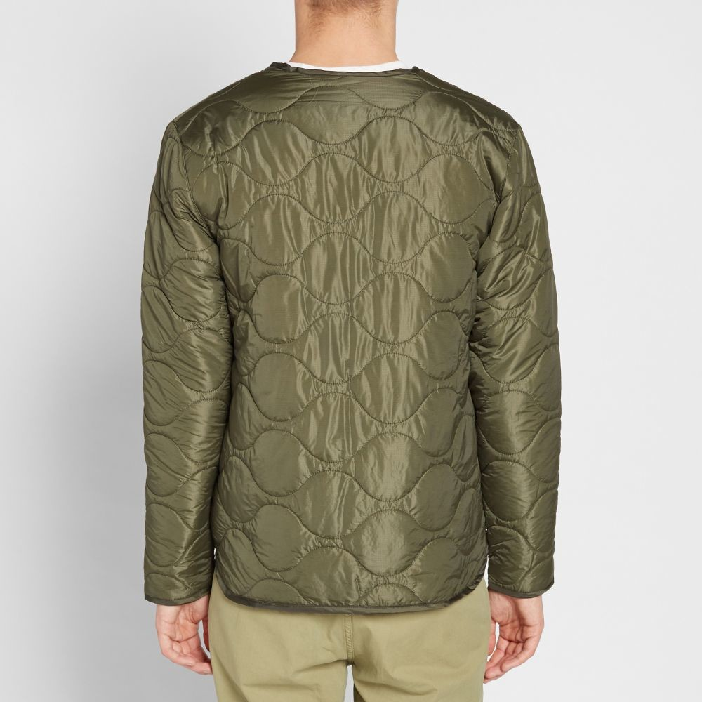 Куртка stussy quilted military liner jacket фото №4