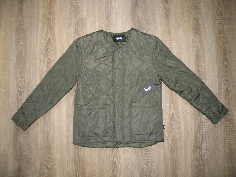 Куртка stussy quilted military liner jacket фото №5