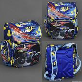 Рюкзак школьный, 3 отделения, 2 кармана, 2 отделения внутри, ортопедическая спинка