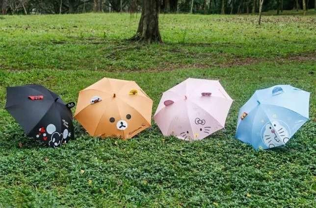 Детский зонт, зонтик для детей (китти, микки маус, зайка) фото №1