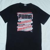 Puma хлопковая футболка на подростка 164 см,или мужской XS,оригинал