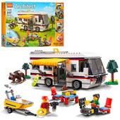 Конструктор типа Лего Кемпинг 3 в 1 Decool 3117
