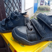 Кожаные ботиночки,отличного качества.25-29.Венгрия