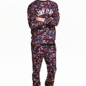 Джоггеры с рисунком, H&M, S штаны спортивные