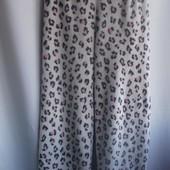 Теплые пижамные штанишки  из велсофта (махра-травка)евро р M,   наш 44-46