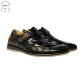 Туфли мокасины мужские кожа р.42-28см