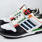 Кожаные кроссовки Adidas zxz adv. Стелька 28 см
