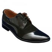 Шикарные мужские туфли Люкс качество Кожа