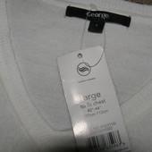 George новый свитер белого цвета  L-XL-размер.