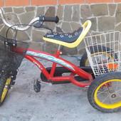 Велосипед трехколесный Flying Kids 12 TR-T для ребенка 3-6 лет
