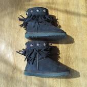 Детские угги ботинки сапоги , 17 см