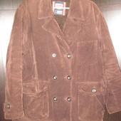 Куртка зимняя Slam Италия мужская вельвет подстёжка L