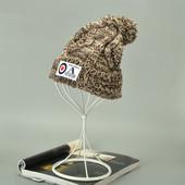 13-26 Женская зимняя шапка теплая