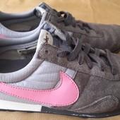 Замшевые кроссовки оригинал Nike р.41-26см.