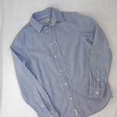 Стильная рубашка на подростка 158-163 см,13-15 лет,(замеры),от H&M.