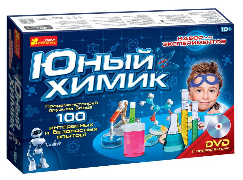 Набор для экспериментов юный химик ranok creative фото №1