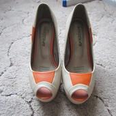Туфли с открытым передом