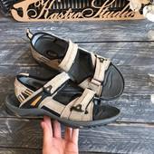 Мужские спортивные сандали натуральный замш р-р 42-43