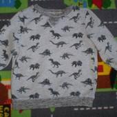 свитер свитшот реглан кофта Nutmeg 2-3 г 100% котон