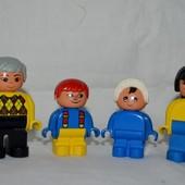 Полная семья фигурки для набора Lego LEGO duplo лего дупло
