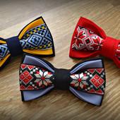 бабочки в украинском стиле